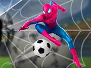SuperHero Spiderman Fußball Soccer League Spiel