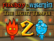 Fireboy and Watergirl Light Temple