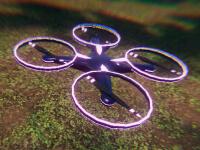 Drohnen-Rennen