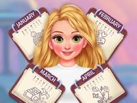 Rapunzels Modekalender